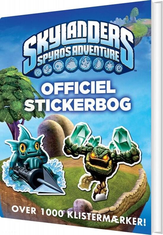 Skylanders Spyros Adventure Officiel Stickerbog - Ben Hubbard - Bog