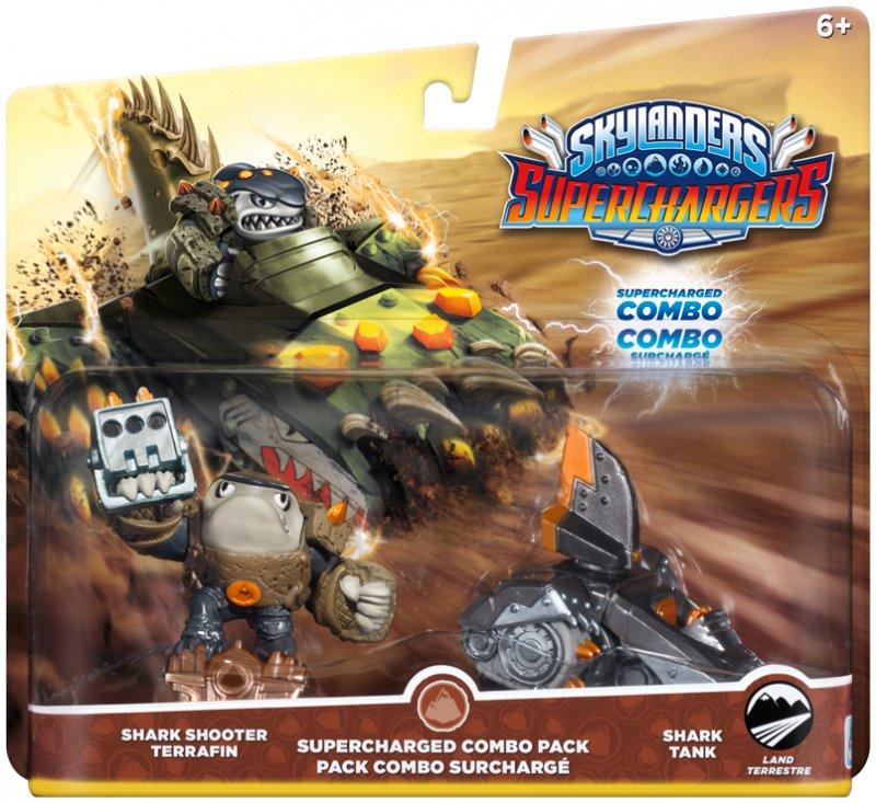 Image of   Skylanders Superchargers Combo Pack - Shark Shooter Terrafin & Shark Tank