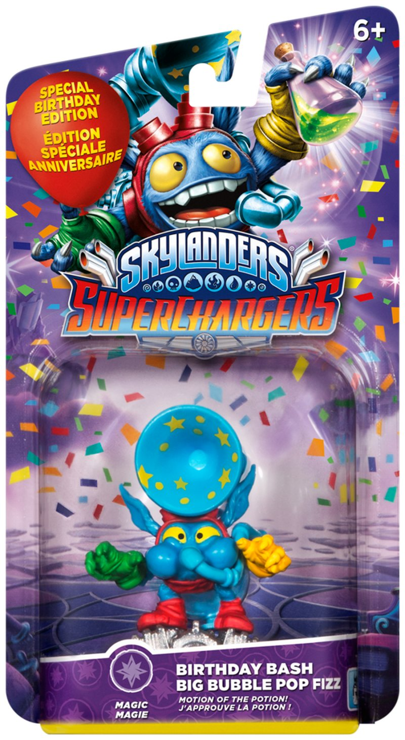 Image of   Skylanders Superchargers Driver - Pop Fizz Limited Edition