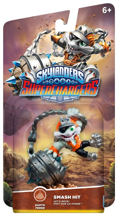 Image of   Skylanders Superchargers Figur - Smash Hit