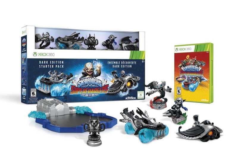 Image of   Skylanders Superchargers - Starter Pack (dark Edition)(nordic) - Xbox 360