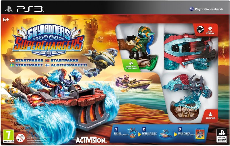Image of   Skylanders Superchargers - Starter Pack (nordic) - PS3