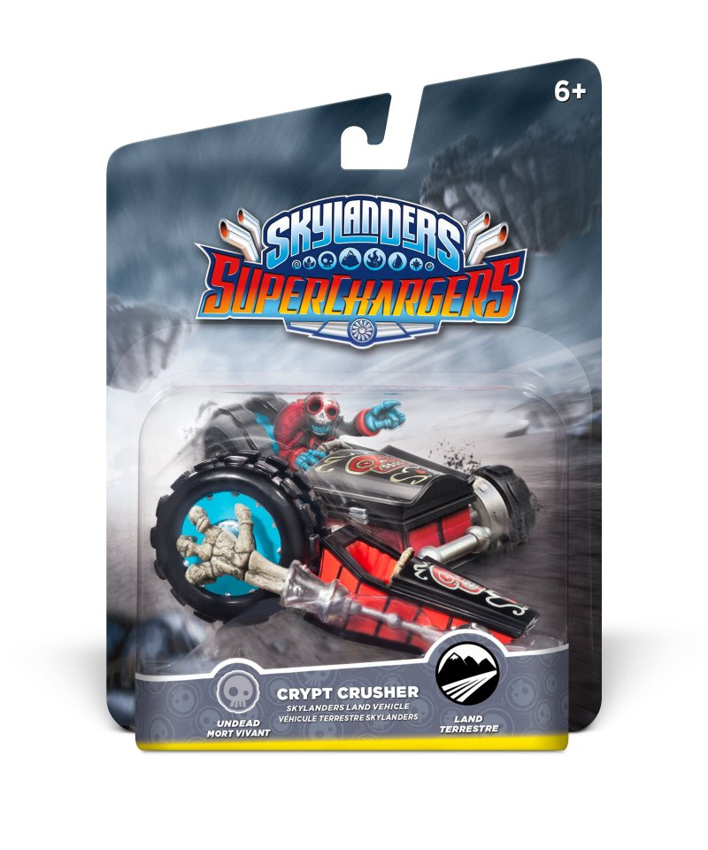 Image of   Skylanders Superchargers Figur - Crypt Crusher