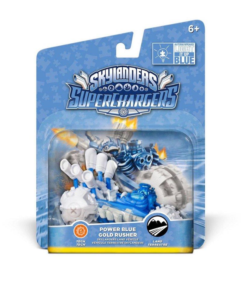 Image of   Skylanders Superchargers Køretøjer - Power Blue Gold Ruscher