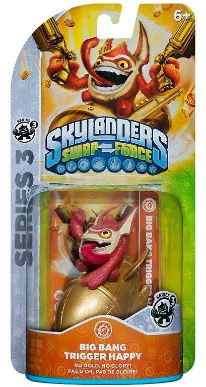 Image of   Skylanders Swapforce Figurer - Trigger Happy
