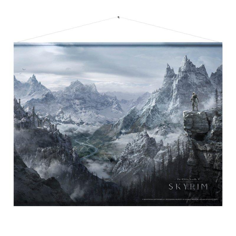 Image of   Skyrim Wallscroll Plakat - Valley