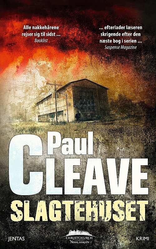 Image of   Slagtehuset - Paul Cleave - Cd Lydbog