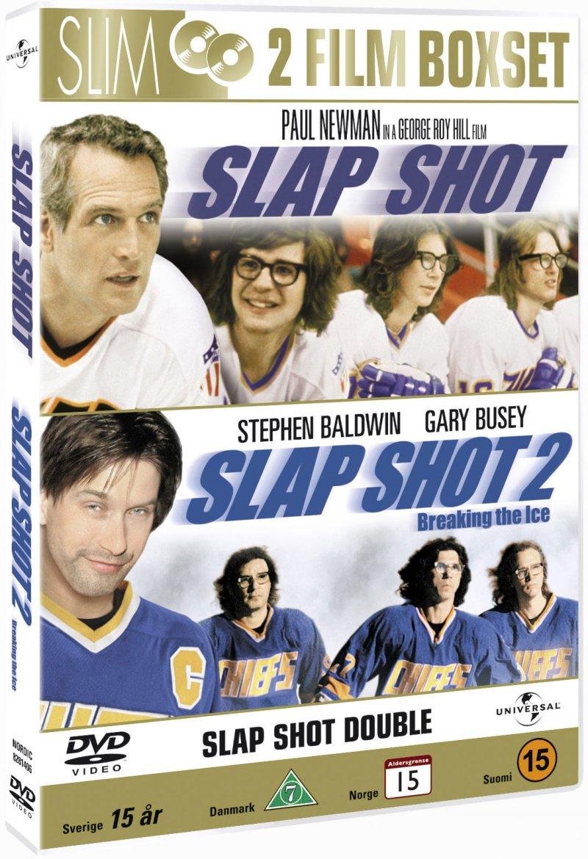 Image of   Slap Shot // Slap Shot 2 - Breaking The Ice - DVD - Film