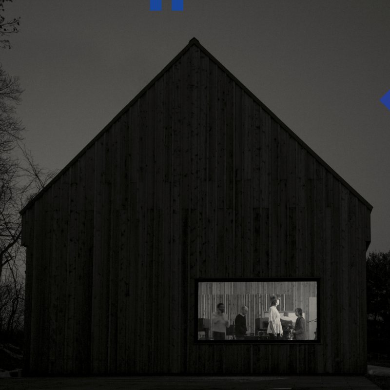 The National - Sleep Well Beast - Blå Vinyl - Vinyl / LP
