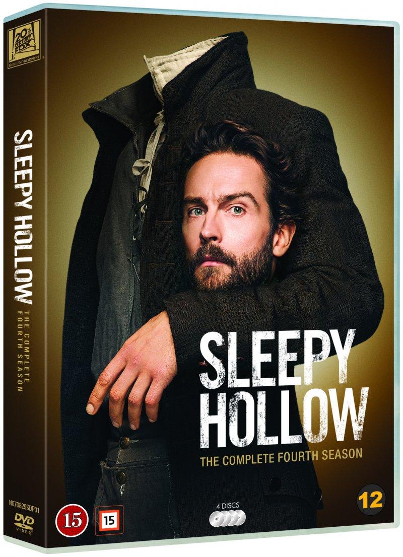 Sleepy Hollow - Sæson 4 - DVD - Tv-serie