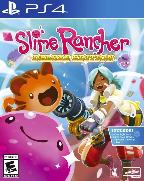 Image of   Slime Rancher - Deluxe Edition - PS4