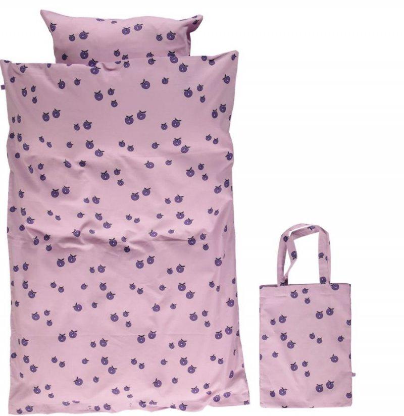 Efterstræbte Småfolk - Baby Sengetøj Med Æble Print - 70x100 Cm. - Viola → Køb AG-63