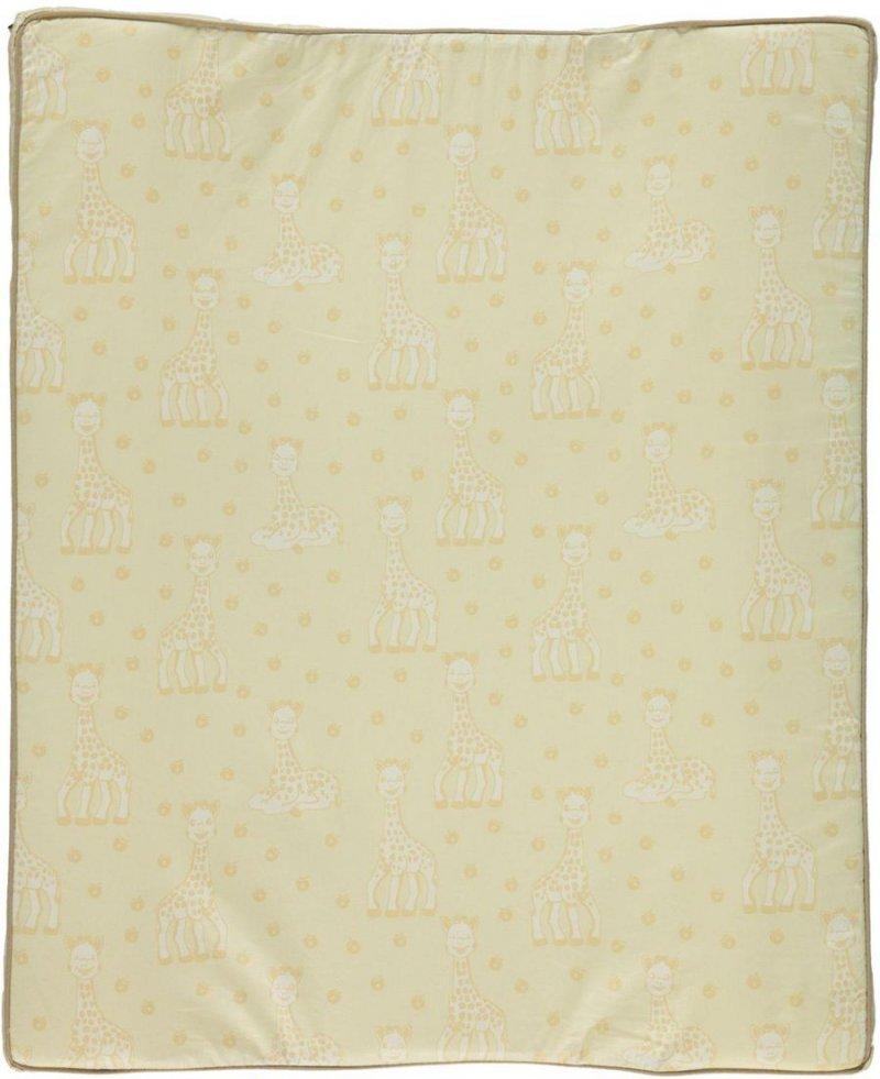 Småfolk - Puslehynde M.  Sophie La Girafe Print - Frozen Dew