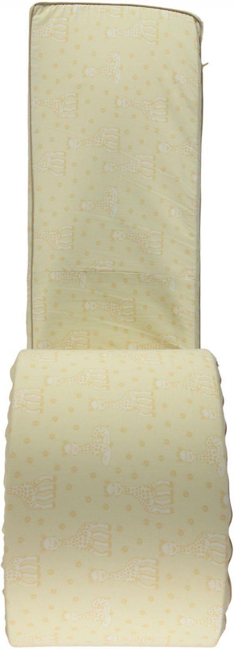 Småfolk - Sengerand M.  Sophie La Girafe Print - Frozen Dew
