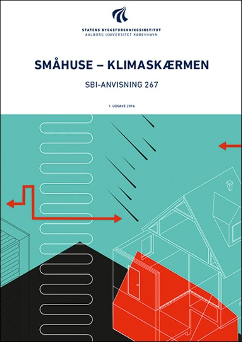 Image of   Småhuse - Klimaskærmen - Erik Brandt - Bog