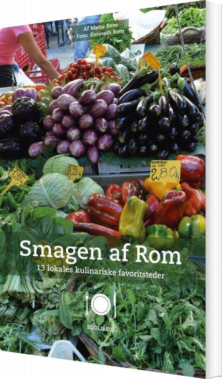 Image of   Smagen Af Rom - Mette Rem - Bog