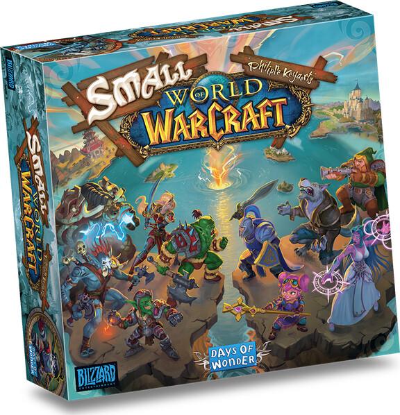 Small World Of Warcraft - Brætspil På Engelsk