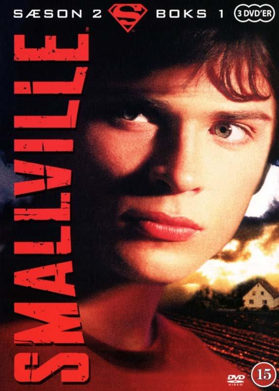 Image of   Smallville - Sæson 2 - Boks 1 - DVD - Tv-serie