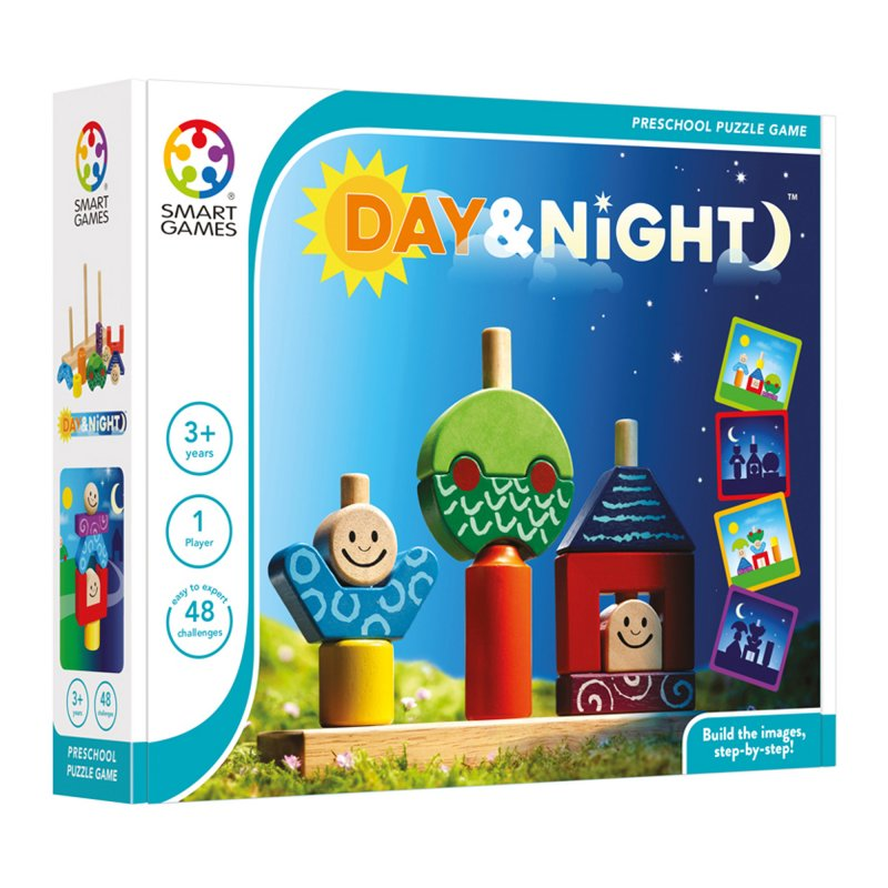 Image of   Smart Games Spil - Day And Night