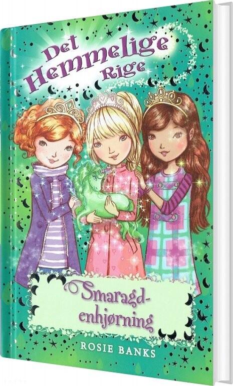 Image of   Det Hemmelige Rige 23 - Smaragdenhjørning - Rosie Banks - Bog