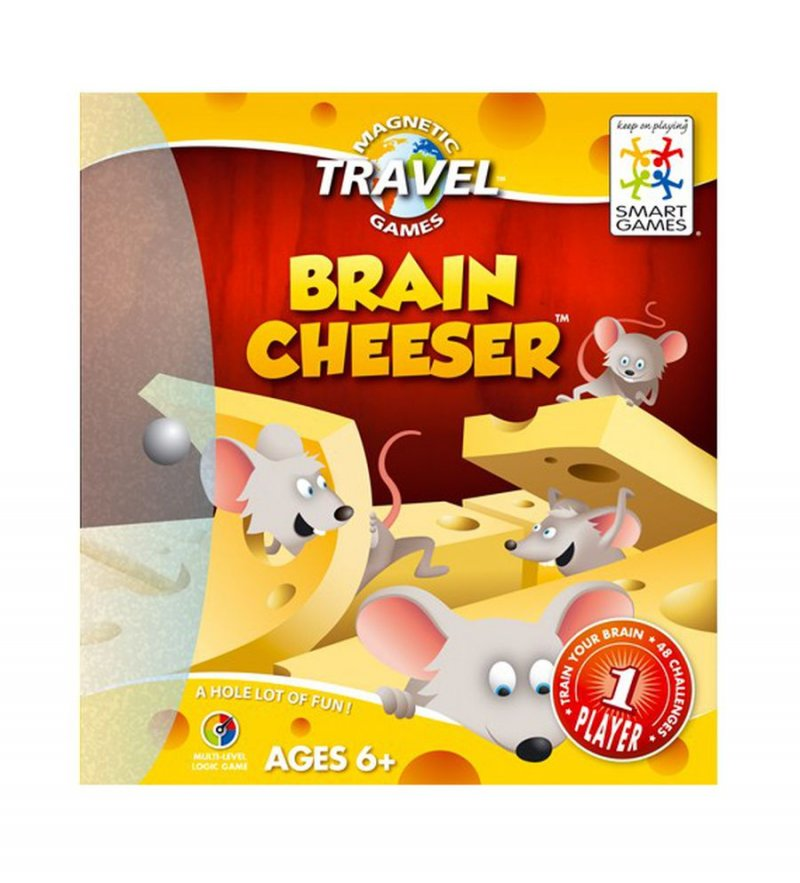 Image of   Smart Games Spil - Brain Cheeser