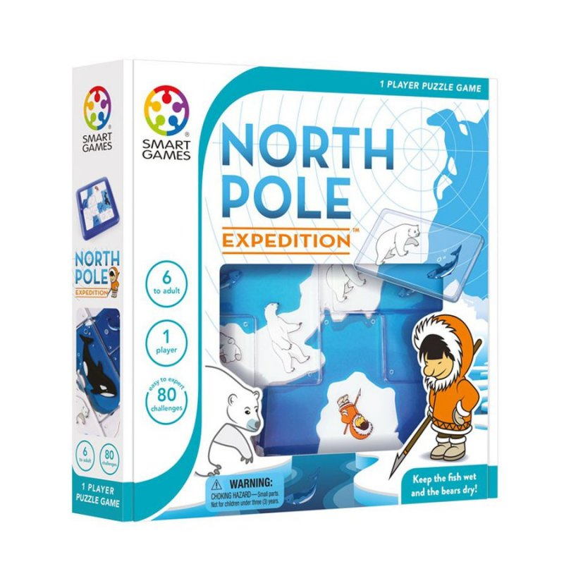 Smart Games Spil - North Pole Expedition