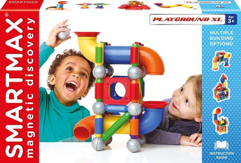 Image of   Smart Max Magnetlegetøj - Playground Xl