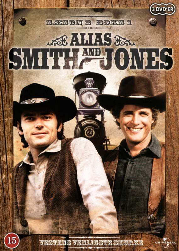 Alias Smith And Jones - Sæson 2 - Boks 1 - DVD - Tv-serie