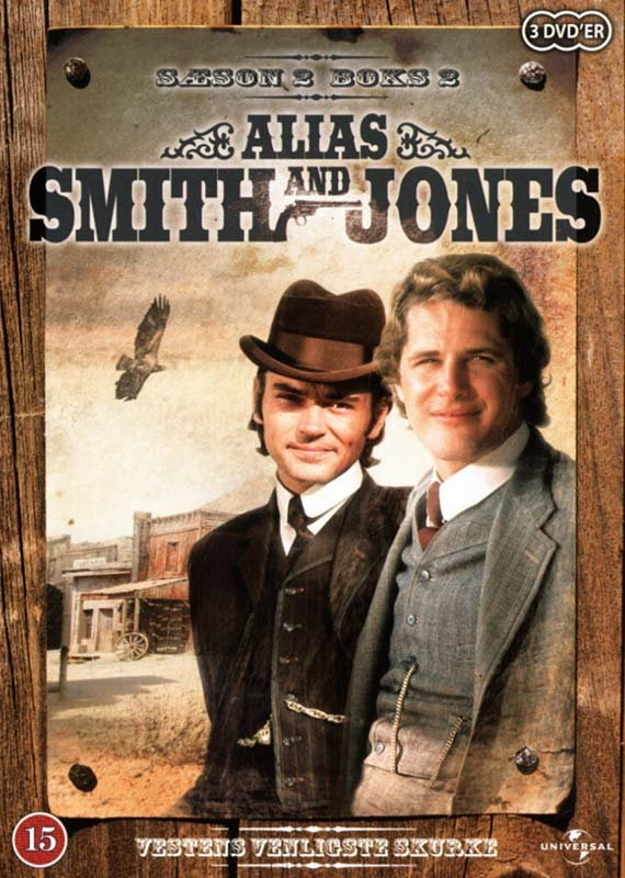 Alias Smith And Jones - Sæson 2 - Boks 2 - DVD - Tv-serie