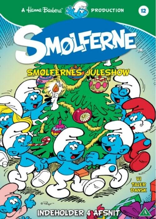 Image of   Smølferne 12 - Smølfernes Juleshow - DVD - Film