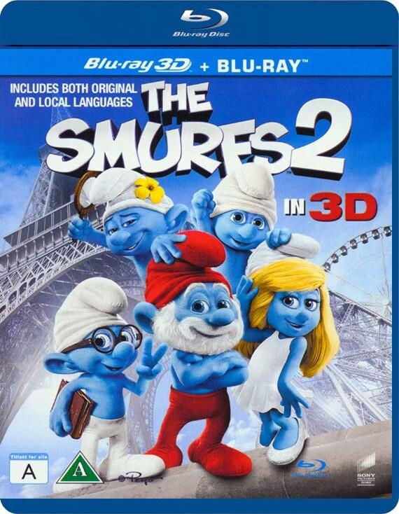 Image of   Smølferne 2 - 3D Blu-Ray