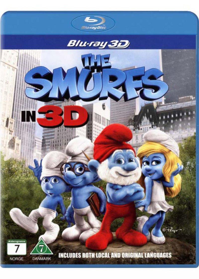 Image of   Smølferne - 3D Blu-Ray