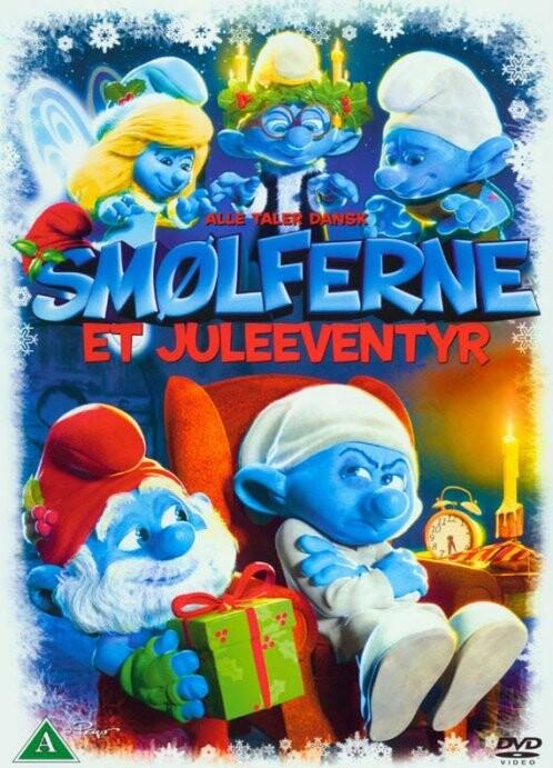Image of   Smølferne: Et Juleeventyr - DVD - Film
