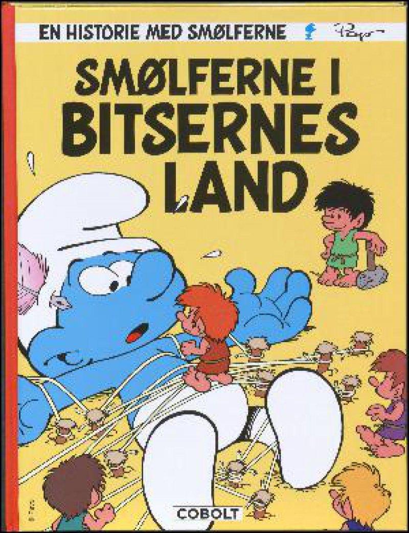 Billede af Smølferne I Bitsernes Land - Peyo - Tegneserie