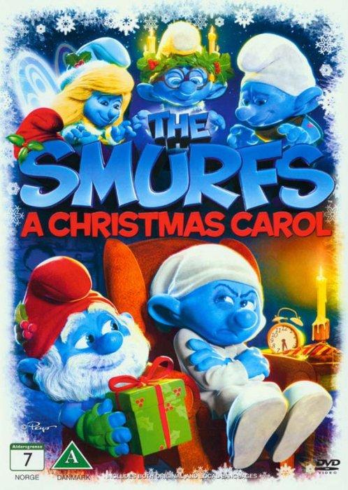 Image of   Smølfernes Jul / The Smurfs - A Christmas Carol - DVD - Film