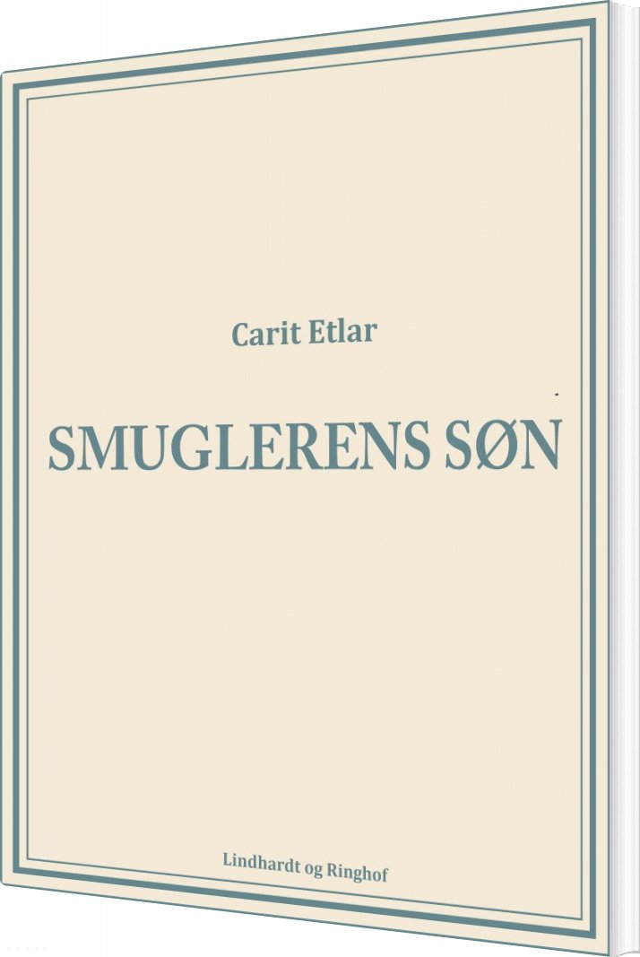 Smuglerens Søn - Carit Etlar - Bog