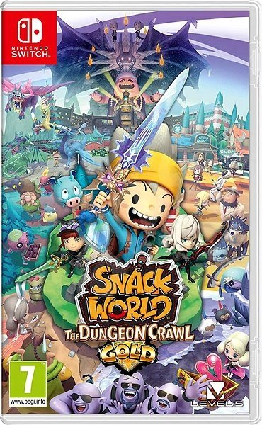 Image of   Snack World: The Dungeon Crawl - Gold - Nintendo Switch