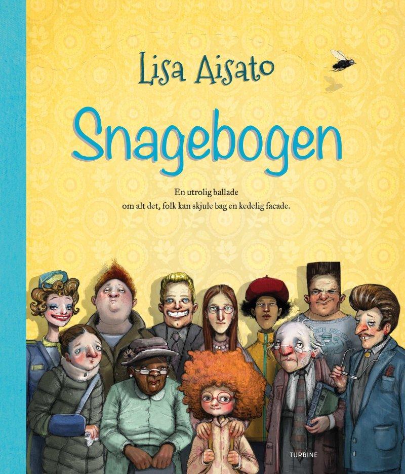Snagebogen - Lisa Aisato - Bog