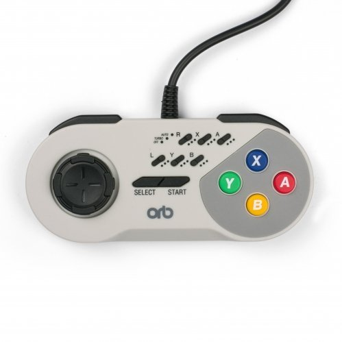Image of   Snes Turbo Controller Med Kabel Fra Orb