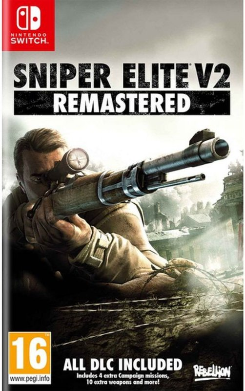 Image of   Sniper Elite V2 Remastered - Nintendo Switch