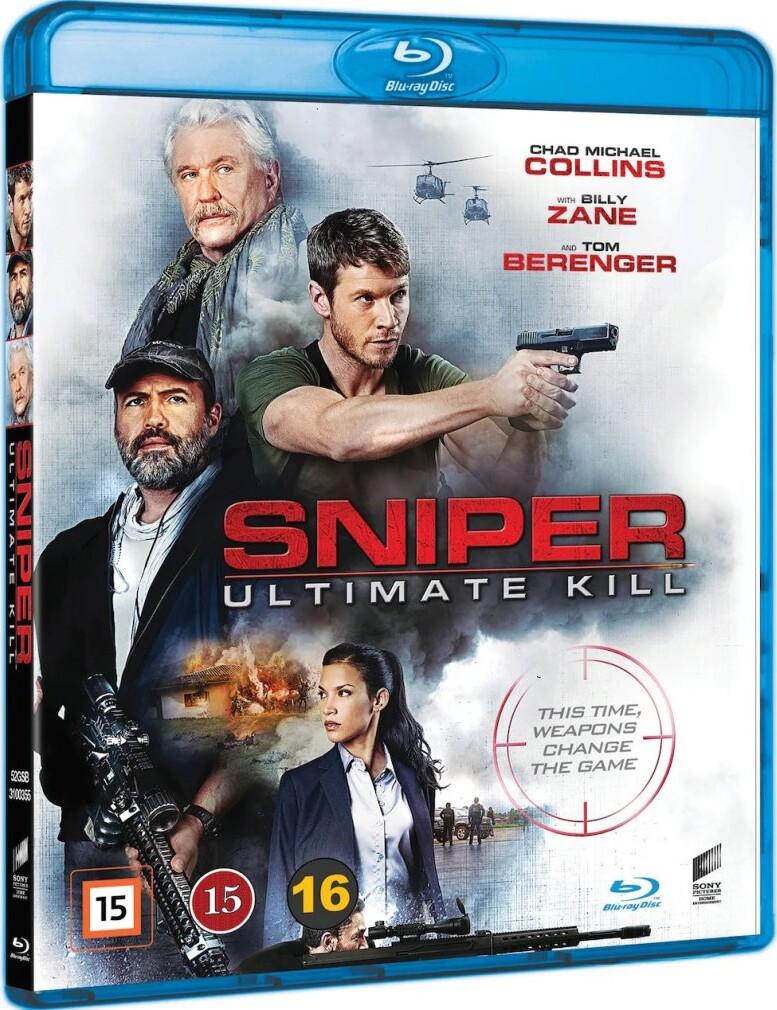Image of   Sniper: Ultimate Kill - Blu-Ray