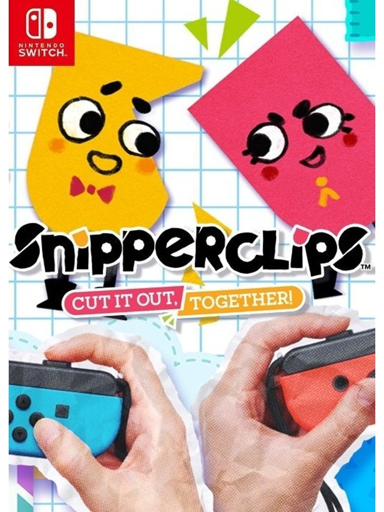 Image of   Snipperclips Plus - Nintendo Switch