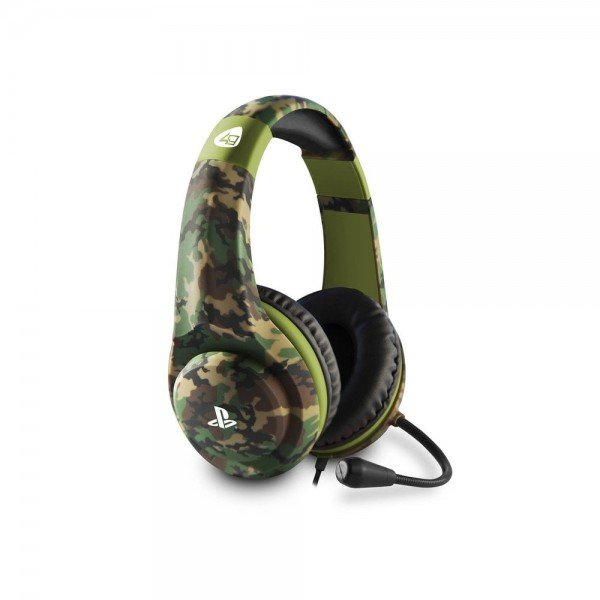 Image of   Sny Pro4-70 - Gaming Headset Med Mikrofon Til Ps4 - Camo