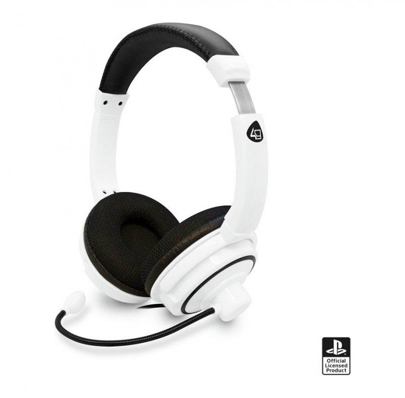Billede af 4gamers Pro4-40 - Stereo Gaming Headset Til Ps4 - Hvid