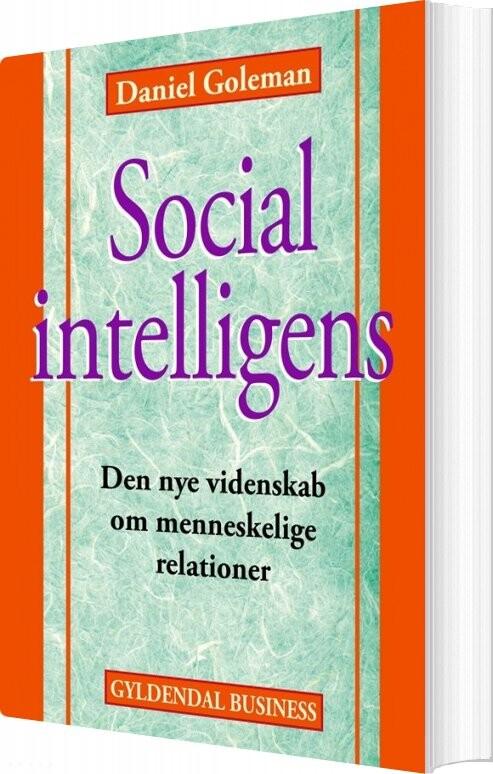 Image of   Social Intelligens - Daniel Goleman - Bog