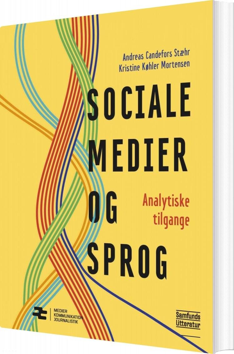 Image of   Sociale Medier Og Sprog - Andreas Candefors Stæhr - Bog