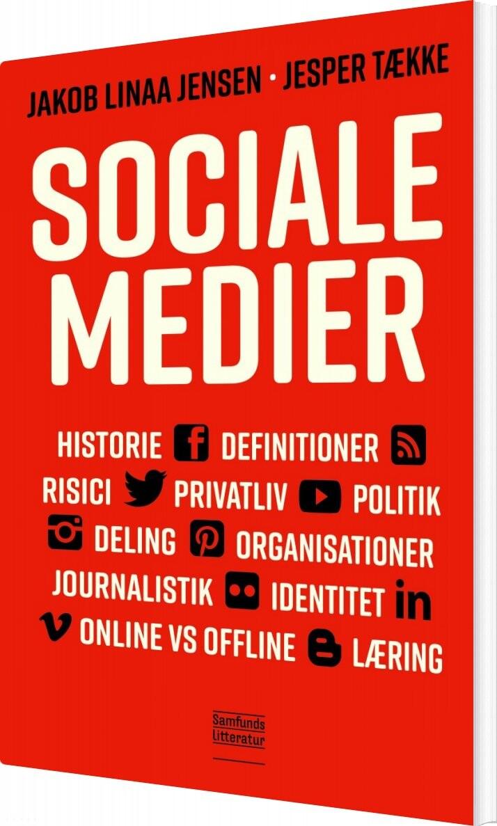 Billede af Sociale Medier - Jesper Tække - Bog