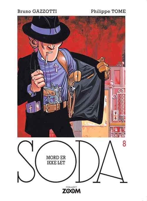 Billede af Soda 8: Mord Er Ikke Let - Philippe Tome - Tegneserie