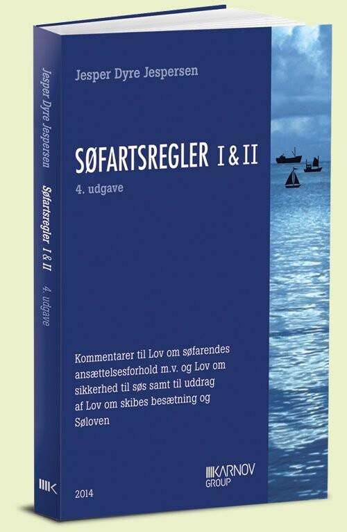 Image of   Søfartsregler I & Ii - Jesper Dyre Jespersen - Bog