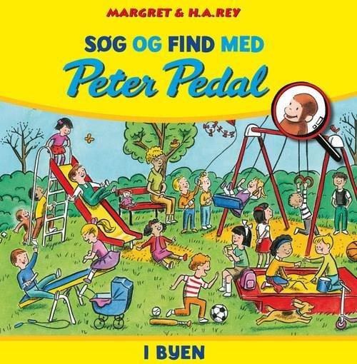 Image of   Søg Og Find Med Peter Pedal - I Byen - Margret Rey - Bog